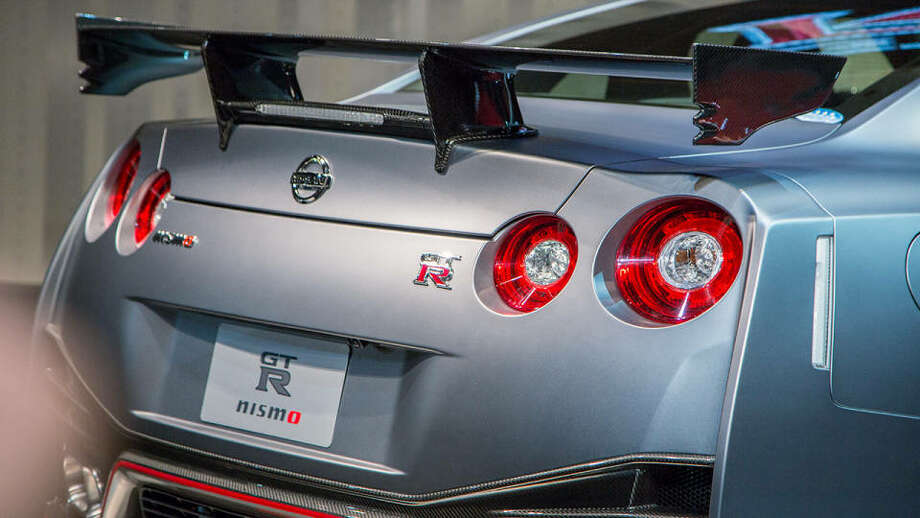 2015 Nissan GT-R Nismo at the Tokyo Motor Show. Photo: Chris Cantle, Road & Track
