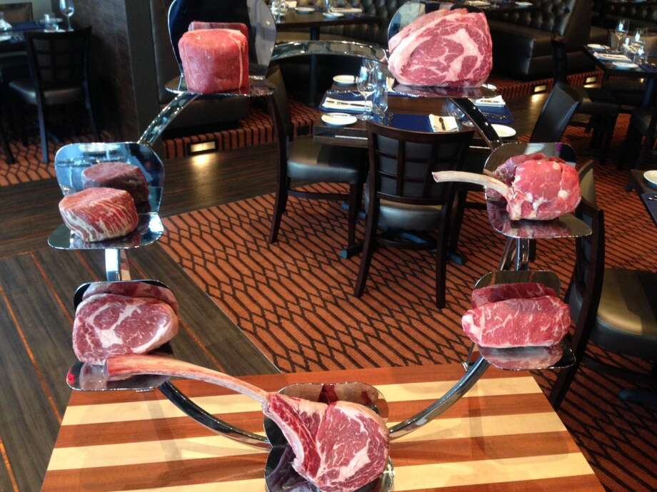 The meat cart at Vallone's. Photo: Greg Morago