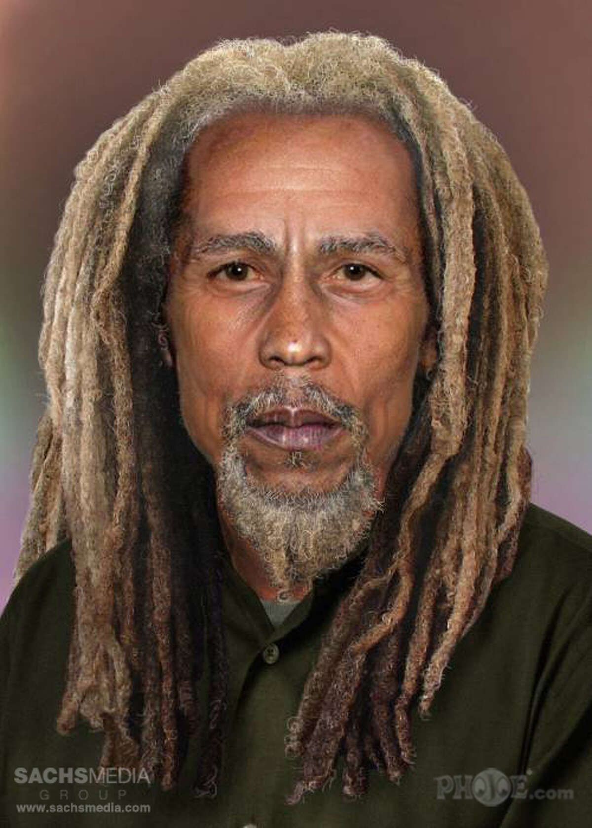 Bob Marley Singer/Songwriter Bob Marley and the Wailers- Died 1981 at the age of 36. SACHSMEDIA Group