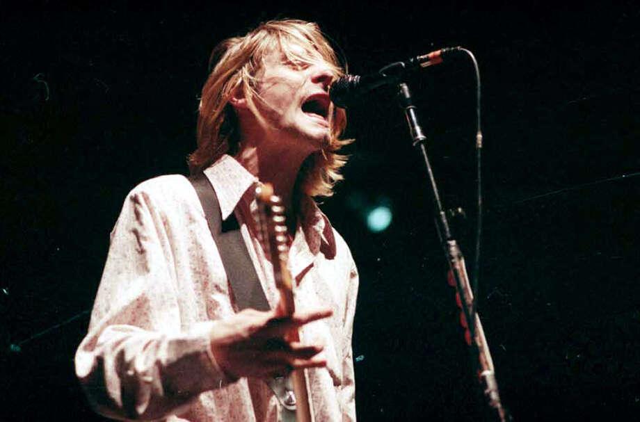 Post-Intelligencer photographer Kurt Smith took this photo of Kurt Cobain on Jan. 7, 1994.  Photo: Kurt Smith/CopyrightMOHAI, Seattle Post-Intelligencer Collection, 2000.107_negsBox4-19940107-roll 2-frame 8.