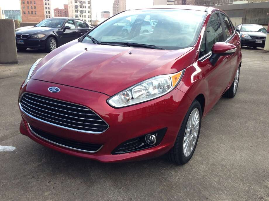 2014 Ford Fiesta Titanium. Photo: Dwight Silverman, Houston Chronicle