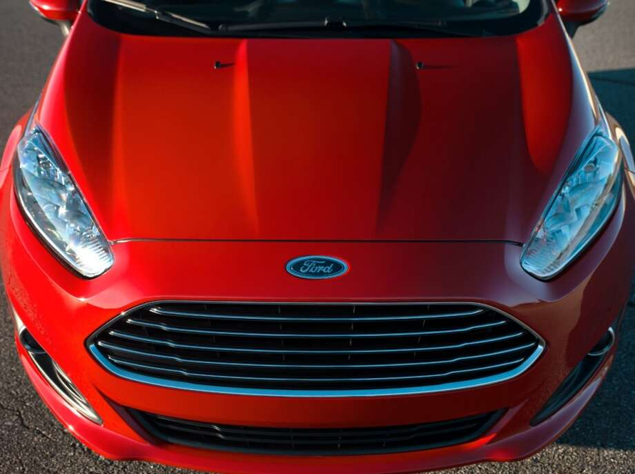 The grill invokes the Aston-Martin models of the 1960s. Photo: Ford