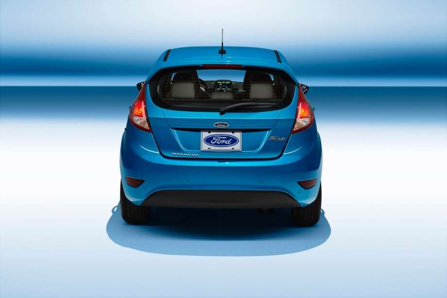 The Fiesta is also available as a 5-door hatchback. Photo: Ford
