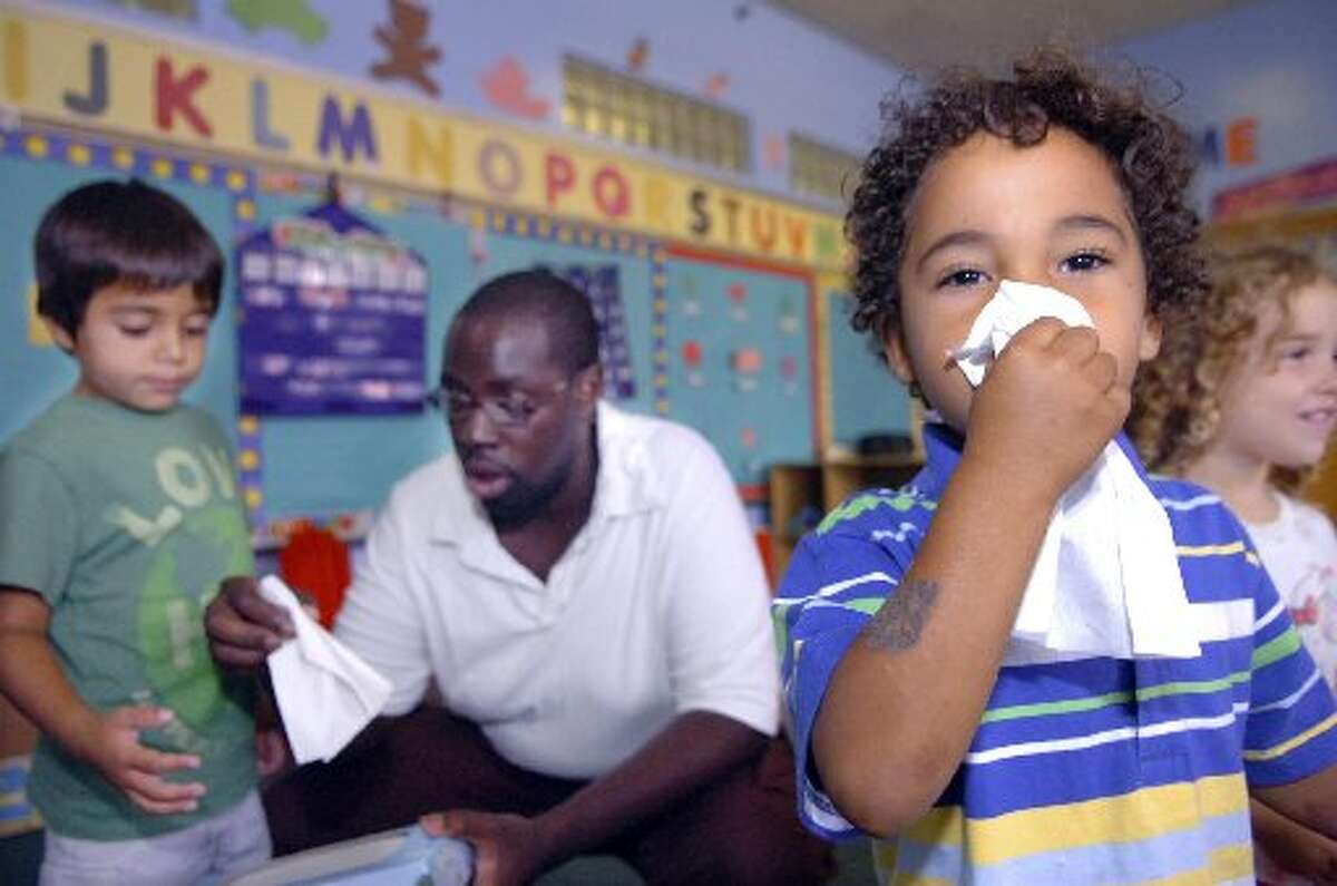 Influenza precautions Cover your nose and mouth with a tissue when you cough or sneeze. Throw the tissue in the trash after you use it.