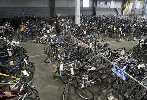 Inside San Francisco's stolen bike warehouse - SFGate