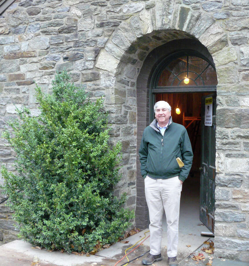 Nelson North, director of Fairfield Operations for the Connecticut Audubon, stands in the doorway of the Birdcraft Museum, now under renovation. The public is invited to tour the historic building at the Birdcraft Tea on Dec. 7. Photo: Gretchen Webster / Fairfield Citizen contributed