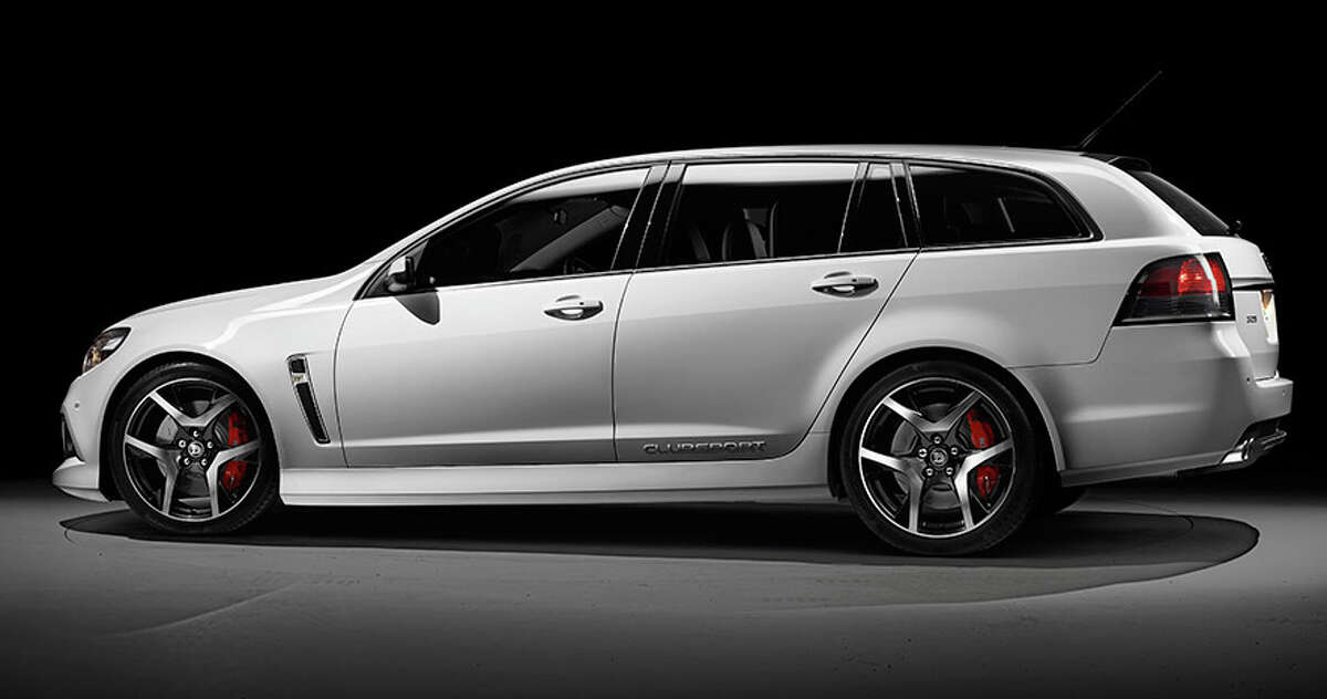 Holden HSV Clubsport R8 Tourer You'll have to venture Down Under to find one of these. Top speed: 160