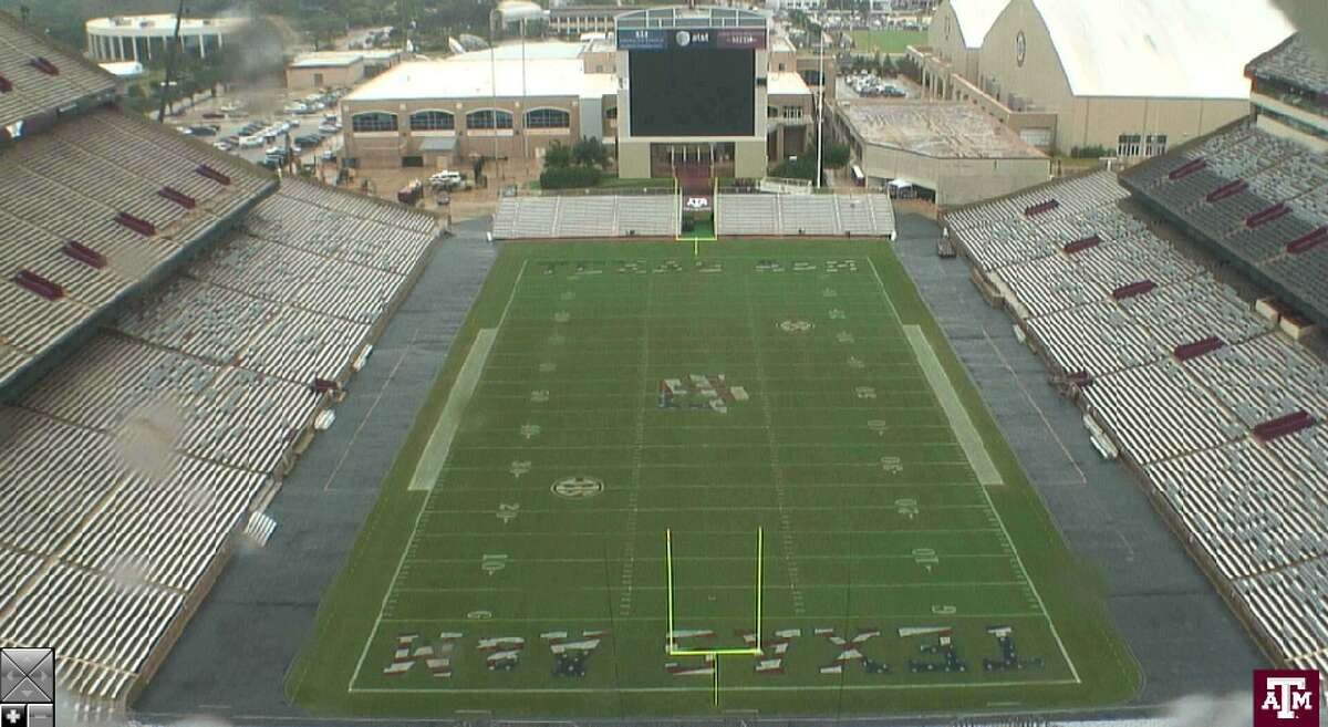 Watch as Kyle Field has changed in November as demolition progresses. (Web camera stills from http://kylefield.com/constructioncams)