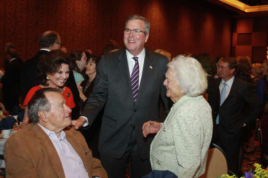 "The evolution of Barbara Bush on Jeb for president.April 2013Barbara Bush on a Jeb presidential run: NegativeThe quote: ""We've had enough Bushes. It's a great country. There are a lot of great families and it's not just four families.""