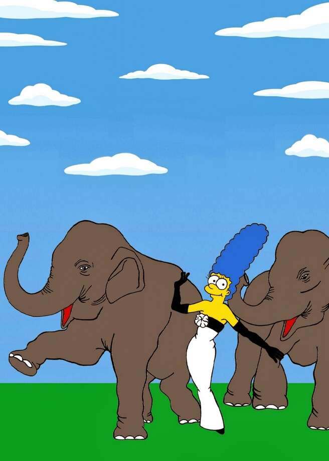 More Marge with Elephants. Photo: Alexsandro Palombo