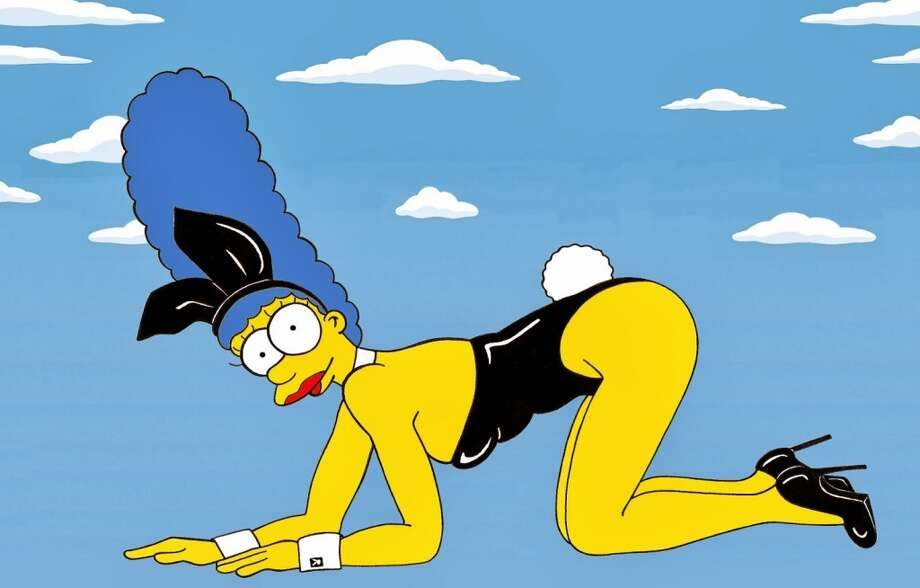 Marge Simpson as Kate Moss. Photo: Courtesy, Alexsandro Palombo