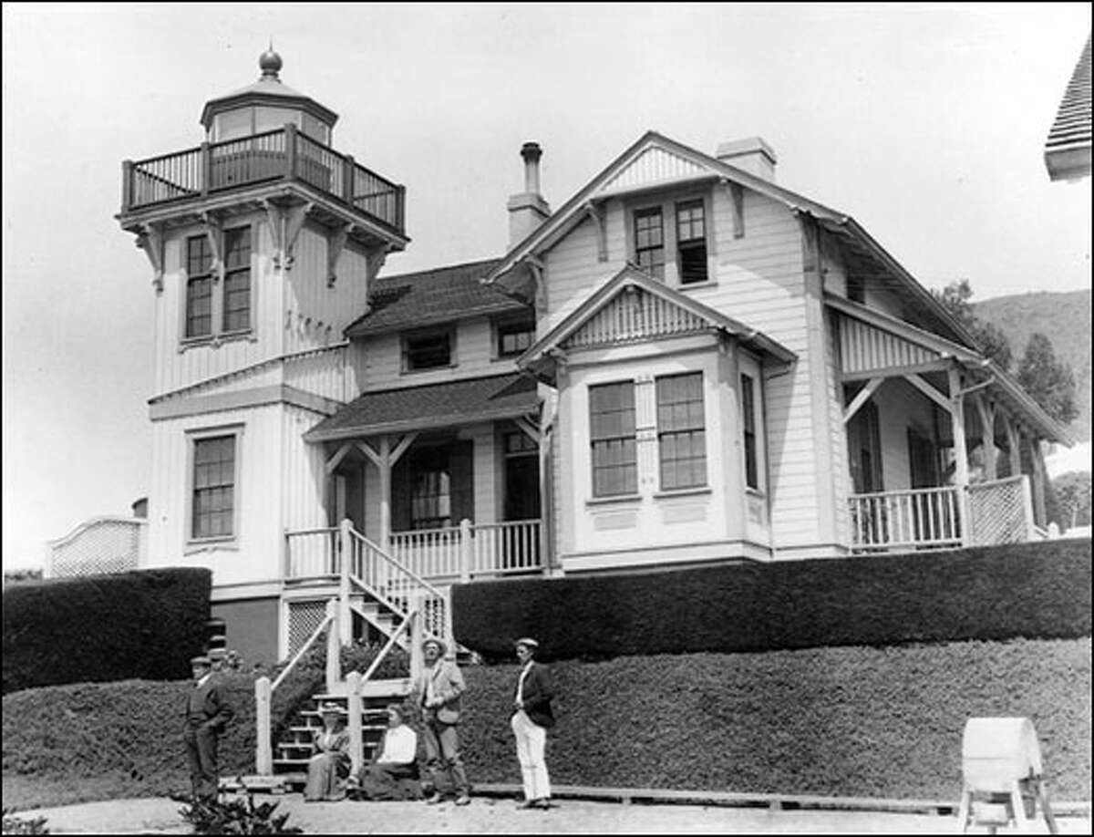 The Point San Luis Lighthouse was built in 1890 after a ship named Queen of the Pacific foundered on rocks in the middle of a foggy night, about 500 feet from the Port Harford Pier.