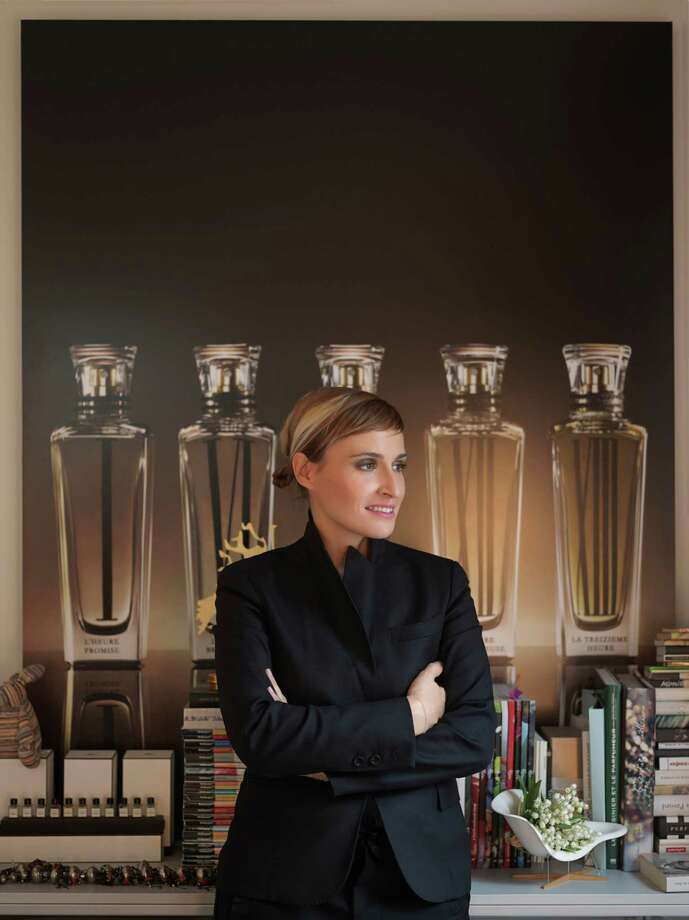 """The """"nose"""" or perfumer behind the Cartier fragrances is Mathilde Laurent. Photo: Cartier / ONLINE_YES"""