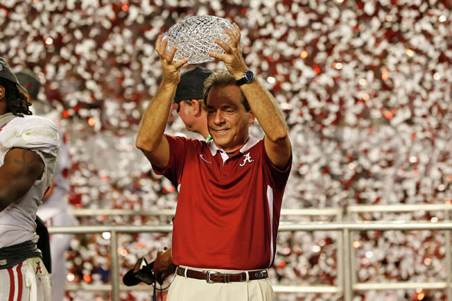 When it comes to big money college football, Alabama may be No. 1 in the polls, but not so much in the program's overall monetary value.