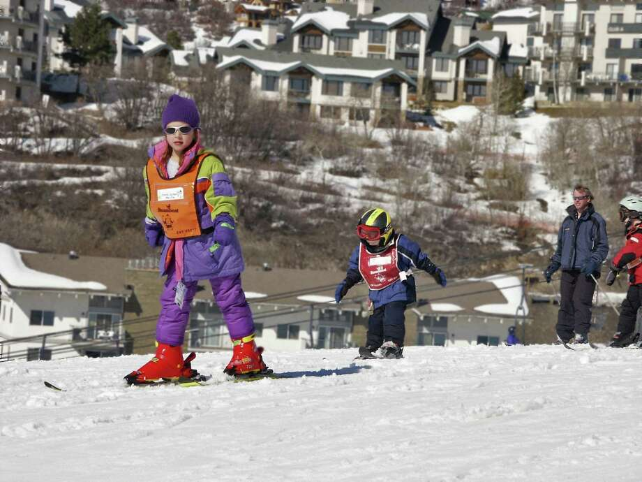 Kids learn the ropes at ski school in Steamboat Springs, Colo. Photo: McClatchy-Tribune News Service