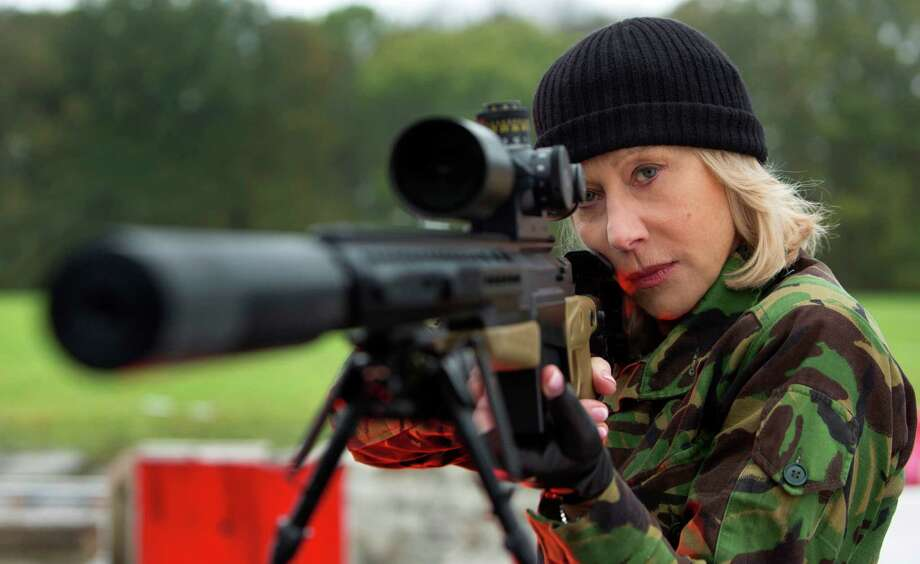 """This film publicity image released by Summit Entertainment shows Helen Mirren in a scene from """"Red 2."""" The film will be released nationwide on Friday, July 19. (AP Photo/Summit Entertainment, Frank Masi) ORG XMIT: NYET364 Photo: Frank Masi / Summit Entertainment"""