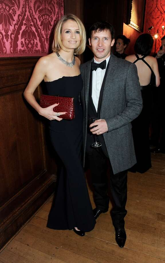 Sofia Wellesley (L) and James Blunt attend the Winter Whites Gala in aid of Centrepoint at Kensington Palace on November 26, 2013 in London, England.  (Photo by David M.Benett/Centrepoint/Getty Images for Centrepoint) Photo: David M.Benett/Centrepoint