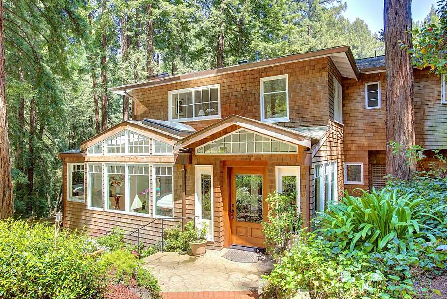 The four-bedroom Mill Valley home is available for $3.445 million. Photo: Jason Wells Photography