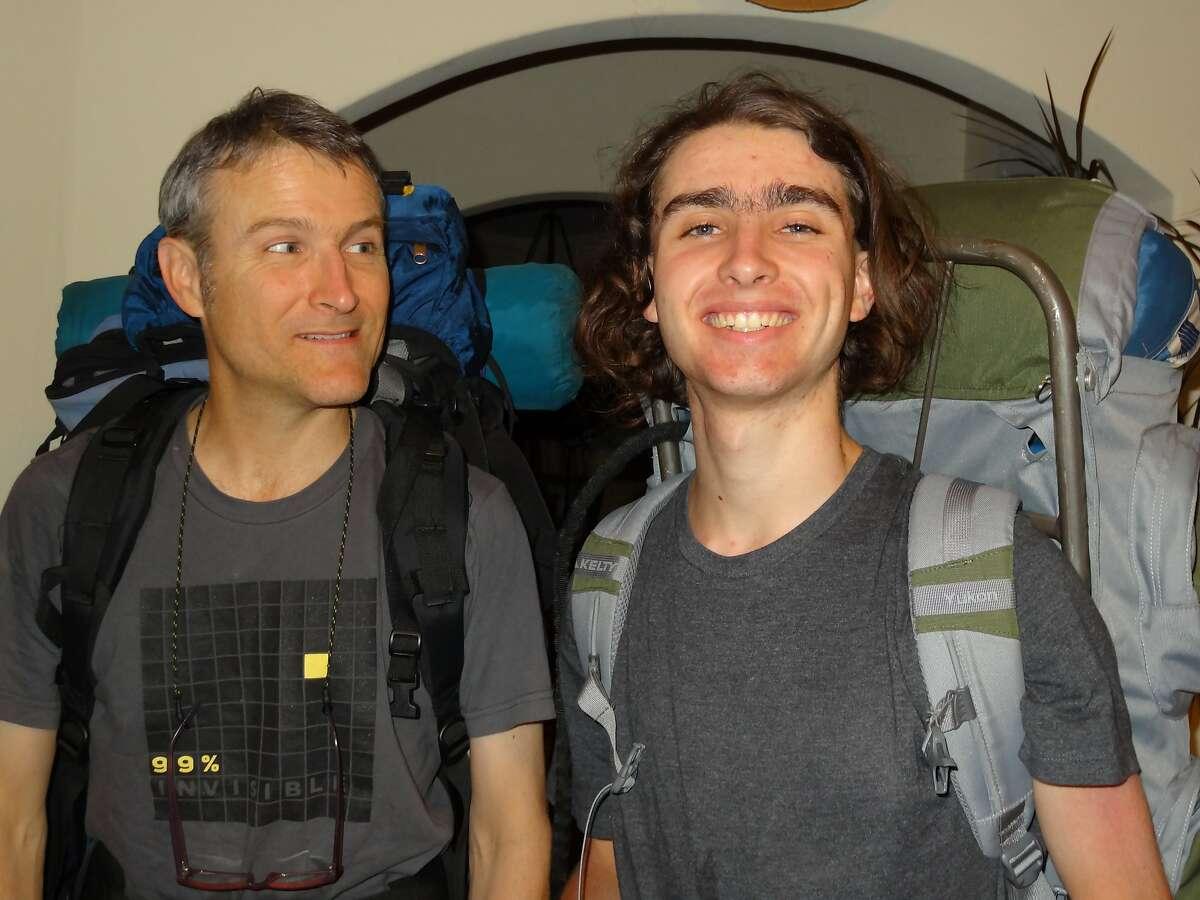 Sasha Fleischman, right, and Sasha's father, Karl Fleischman are pictured in an undated file photo.