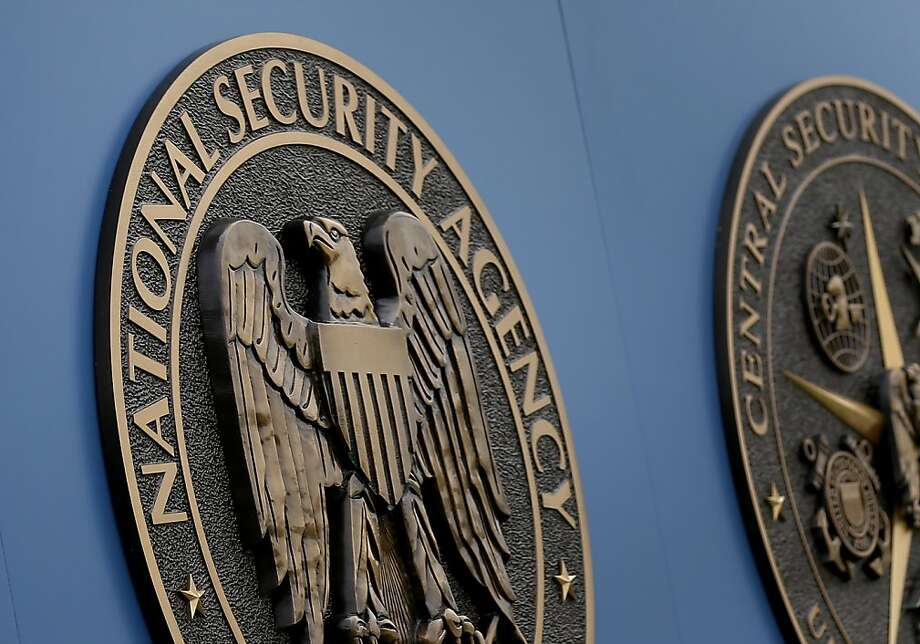 A sign stands outside the National Security Administration (NSA) campus on Thursday, June 6, 2013, in Fort Meade, Md. Another release of declassified government surveillance documents is underway as part of an ongoing civil liberties lawsuit. The Obama administration published more than 1,000 pages of once-secret court opinions and National Security Agency procedures on the website of the Office of the Director of National Intelligence on Nov. 18, 2103. (AP Photo/Patrick Semansky) Photo: Patrick Semansky, Associated Press
