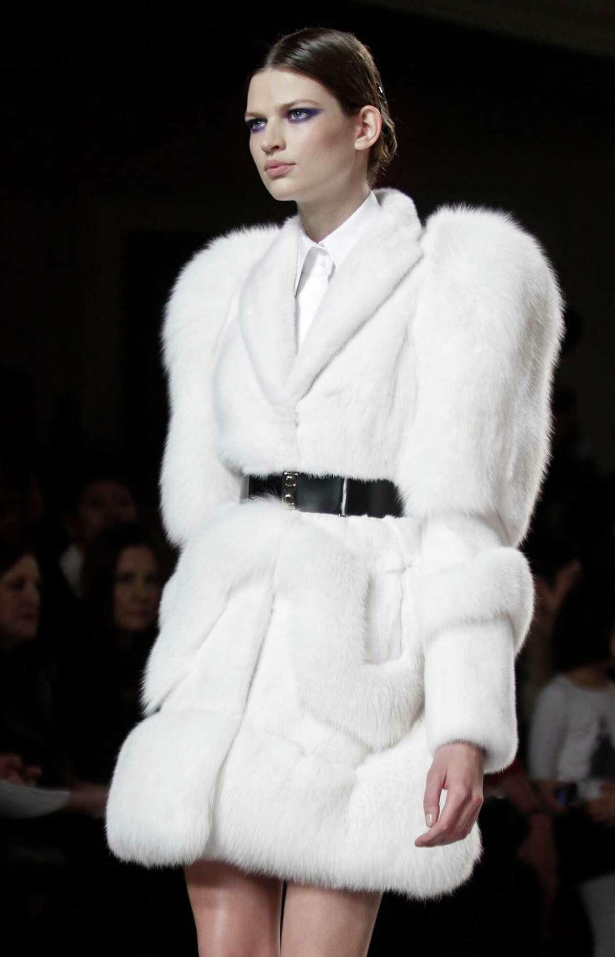 Fashion designer Jason Wu's fabulous fur on the fall/winter runway.