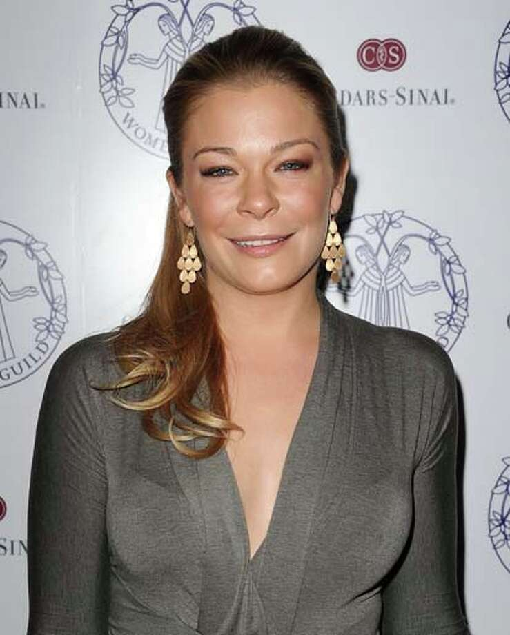 Country singer LeAnn Rimes for what she says was stress and anxiety after an online bullying incident.  Photo: Jason LaVeris, FilmMagic / 2013 Jason LaVeris