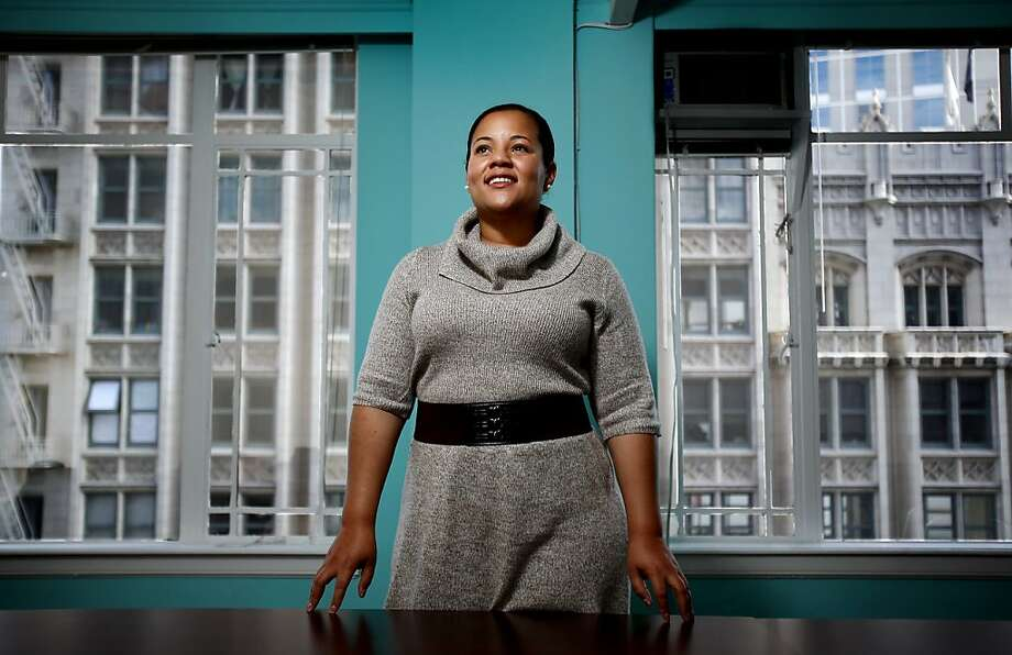 "PHAEDRA ELLIS-LAMKINS: The CEO of Green for All is a great admirer of Oprah Winfrey.  ""She leads with grace and truth,"" Ellis-Lamkins says. Read her profile on Page D10. Photo: Sarah Rice, Special To The Chronicle"