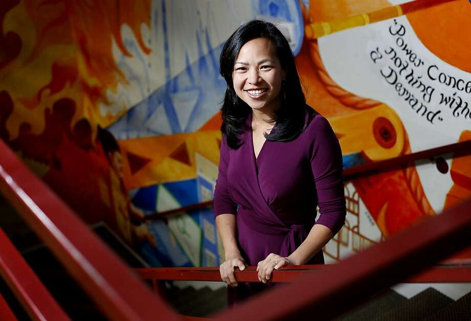 Vien Truong Position: Environmental equity director,Greenlining Institute, a public policy group that works to empower disadvantaged groups Age: 31 Photo: Sarah Rice, Special To The Chronicle
