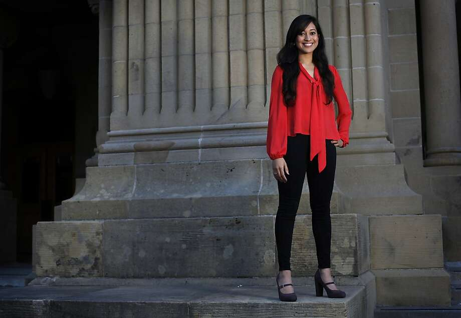 Ayna Agarwal, Position:>Co-founder, She++, a group to inspire women in computer science, human-computer interaction major at Stanford. Age:21 Photo: Sarah Rice, Special To The Chronicle