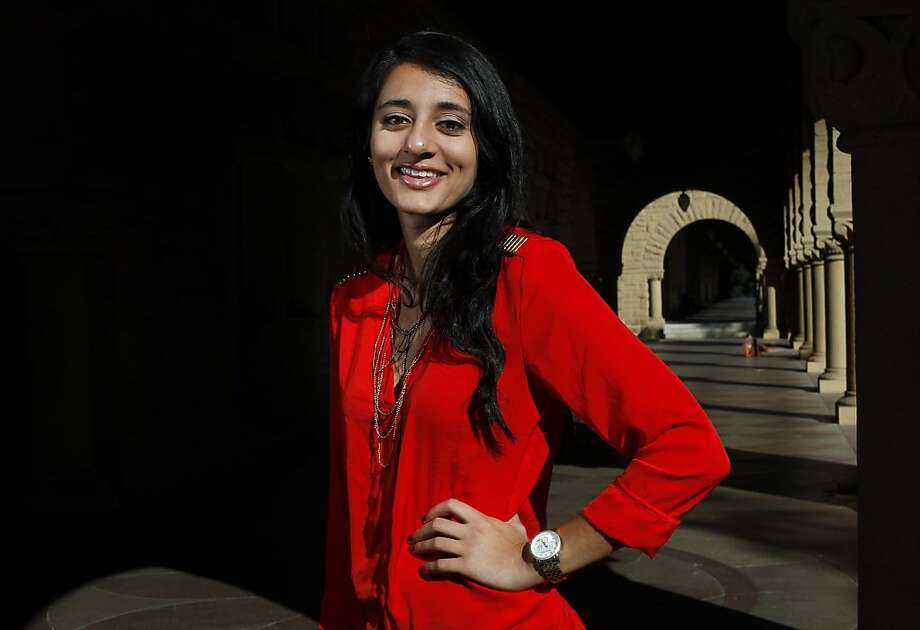 Ellora Israni Position: Co-founder of She++, a women in technology conference at Stanford. Age:21 Photo: Sarah Rice, Special To The Chronicle