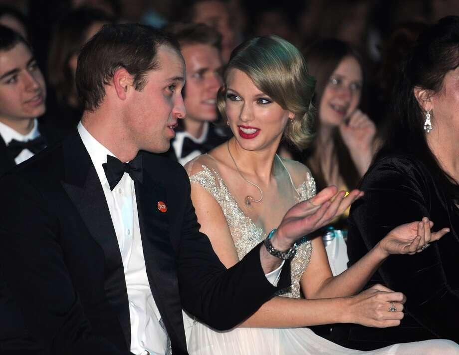 Prince William, Duke of Cambridge and Taylor Swift attend the Winter Whites Gala In Aid Of Centrepoint on November 26, 2013 in London, England. (Photo by Dave J Hogan/Centrepoint/Getty Images) Photo: Dave J Hogan/Centrepoint