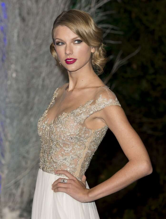 Taylor Swift attends the Winter Whites Gala at Kensington Palace on November 26, 2013 in London, England.  (Photo by Mark Cuthbert/UK Press via Getty Images) Photo: Mark Cuthbert, UK Press Via Getty Images