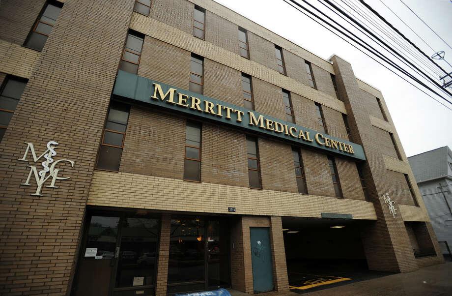 3715 Main Street in Bridgeport, Conn., where a new LLC, D&B Wellness, hopes to open a medical marijuana dispensary. Photo: Brian A. Pounds / Connecticut Post