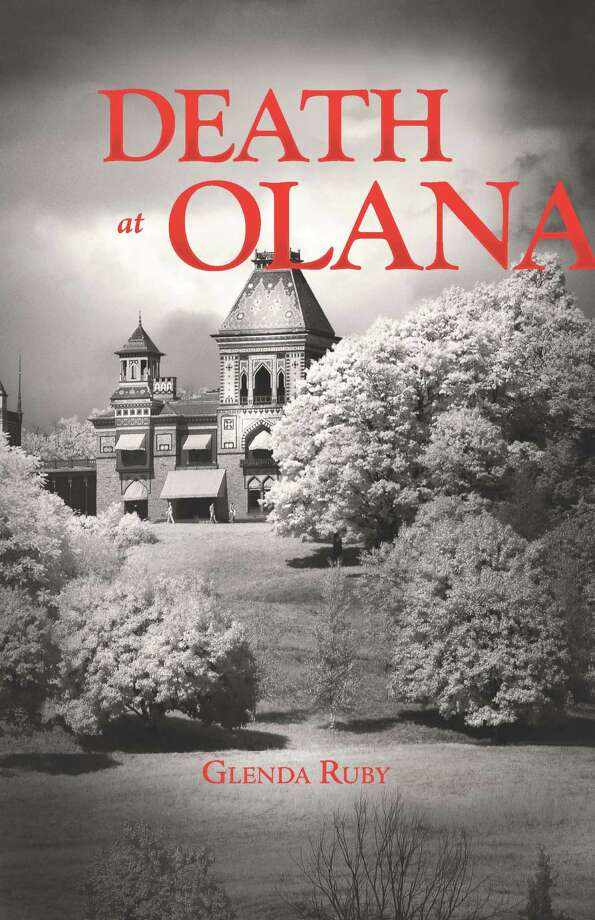 """Death at Olana"" book cover, by author Glenda Ruby. (Olana State Historic Site)"