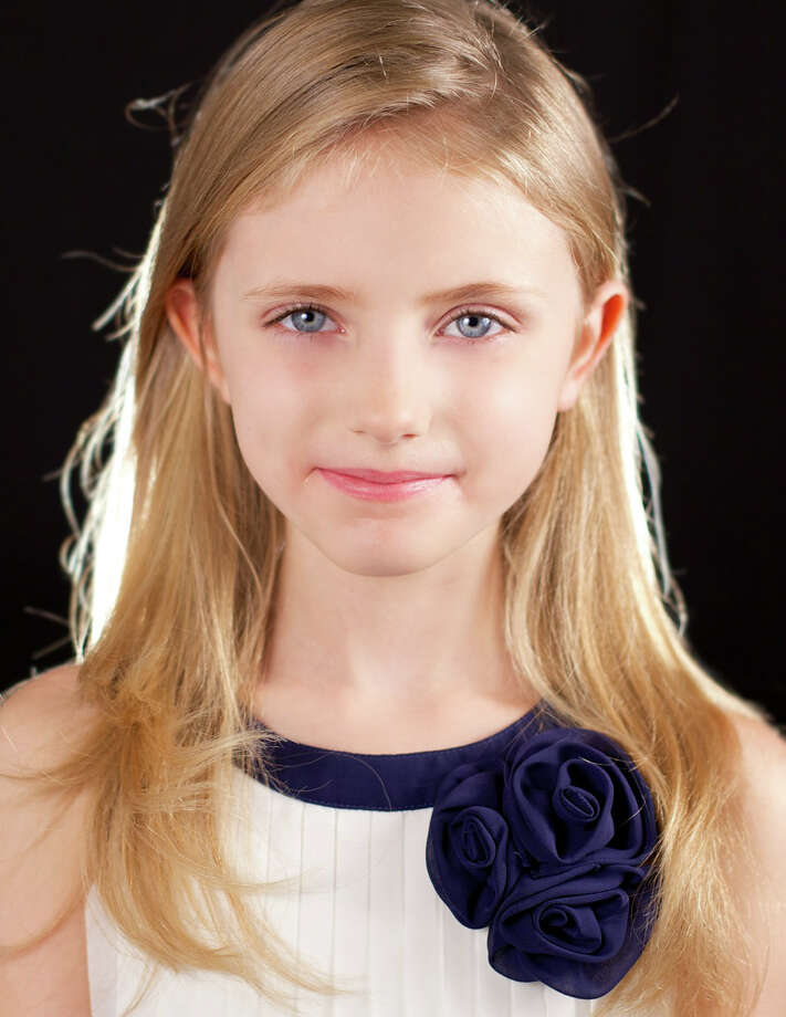 Grace Rundhaug, a third-grader at Wooster School in Danbury, will be making her television debut in NBCís ìThe Sound of Music Liveî on Thursday, Dec. 5. Photo: Contributed Photo / The News-Times Contributed