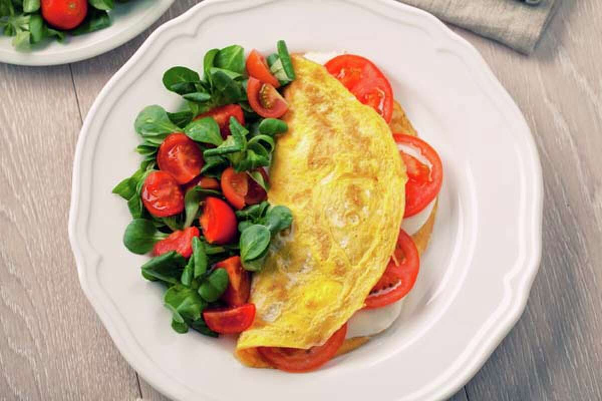 Eat a breakfast packed with protein and fiber.
