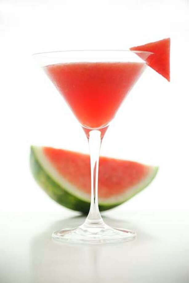 And no, a watermelon martini doesn't count as a melon fruit. Photo: Bill Boch, Getty Images / (c) Bill Boch
