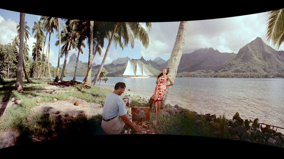 """The Cinerama travelogue """"South Seas Adventure"""" was narrated by Orson Welles. Photo: Flicker Alley"""