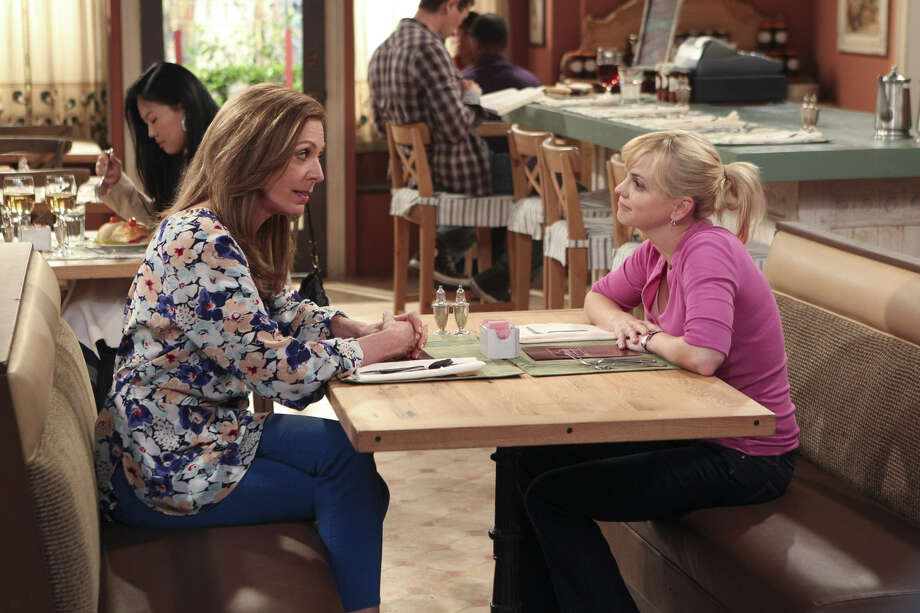 """In """"Mom,"""" Emmy-winning actress Allison Janney (left) gets to indulge her love for comedy. She co-stars with Anna Faris. Photo: CBS"""