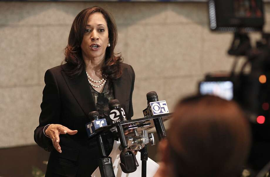 California Attorney General Kamala Harris, seen here in 2012, negotiated an $18 billion settlement with mortgage lenders. Photo: Michael Macor, The Chronicle
