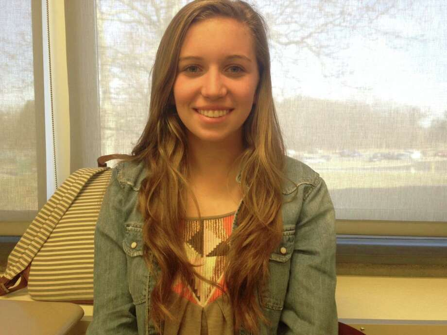 Ryanne Olsen, a senior at Schalmont High School, is thankful for being healthy and able to play her favorite sports.