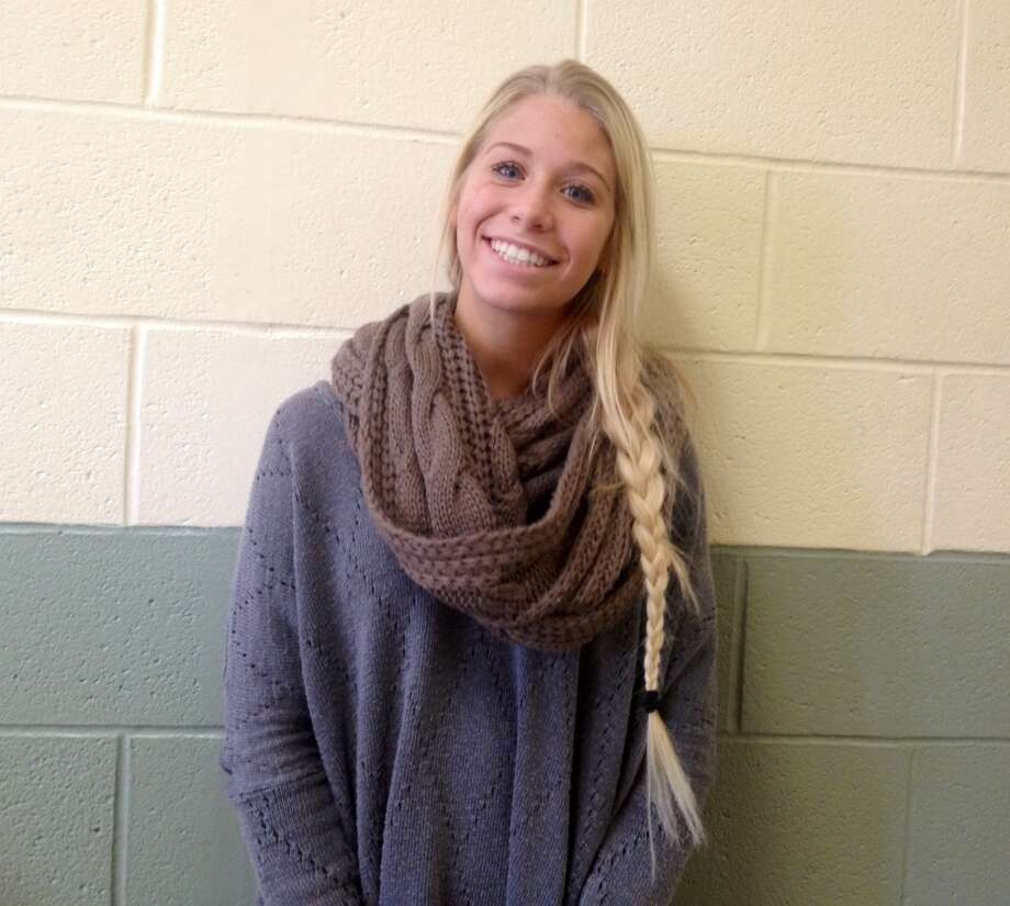 Sarah Ramage, a junior at Schalmont High School, is thankful for her friends and family this Thanksgiving season.