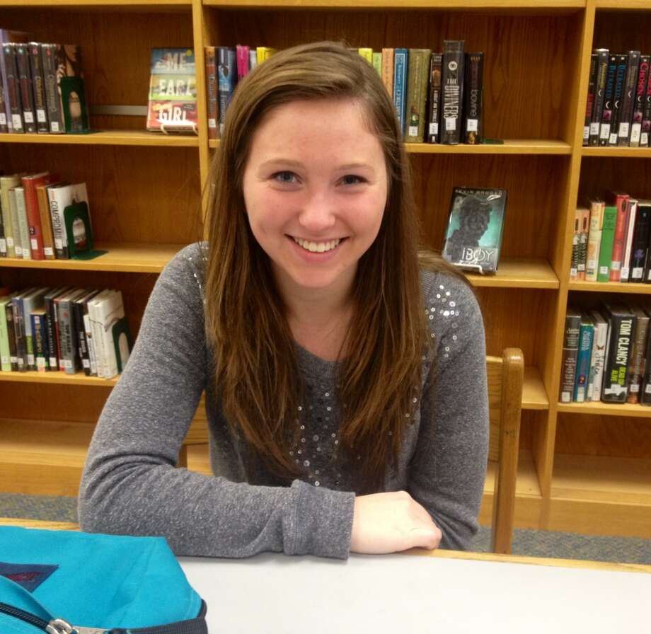 Sarah Hladik, a Schalmont High School senior, is thankful for family and friends for Thanksgiving this year.