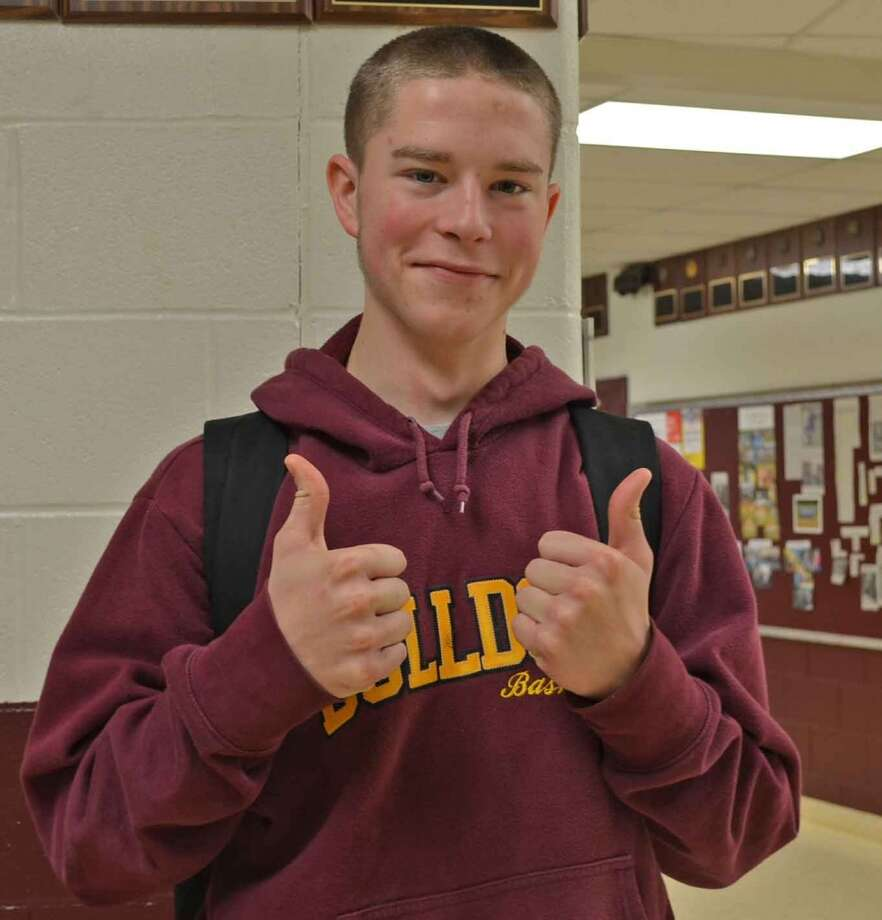 Justin Lee, 17, Berne-Knox-Westerlo CSD, is thankful for the opportunities provided for him.