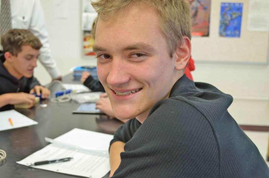 """Greg Gustafson, 16, Berne- Knox- Westerlo CSD, says he is thankful for the production of his new movie """"Path of Vengeance""""."""