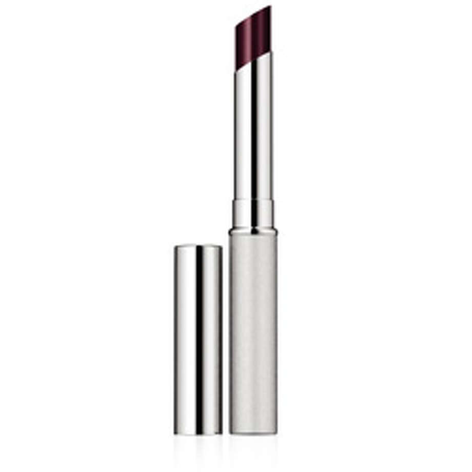 Clinique's Black Honey lip color, $15, is a softer alternative to harsher black lipsticks. And who doesn't like honey?