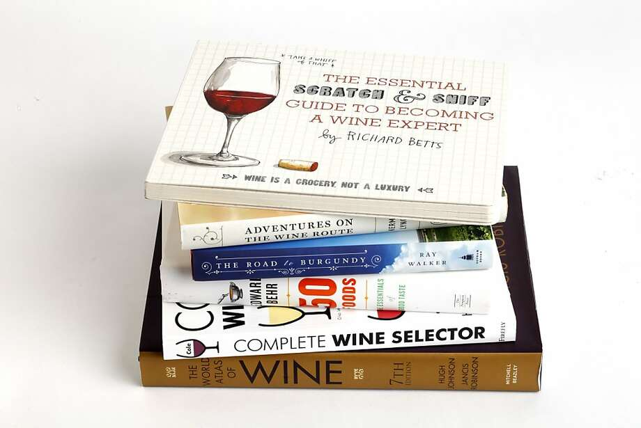 Wine books as seen in San Francisco on Wednesday, November 27, 2013. Photo: Craig Lee, Special To The Chronicle