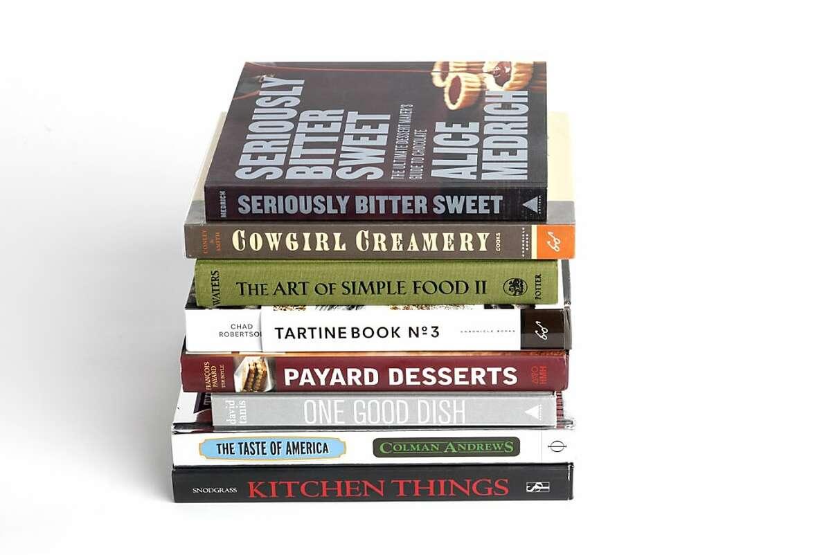 Cookbooks as seen in San Francisco on Wednesday, November 27, 2013.