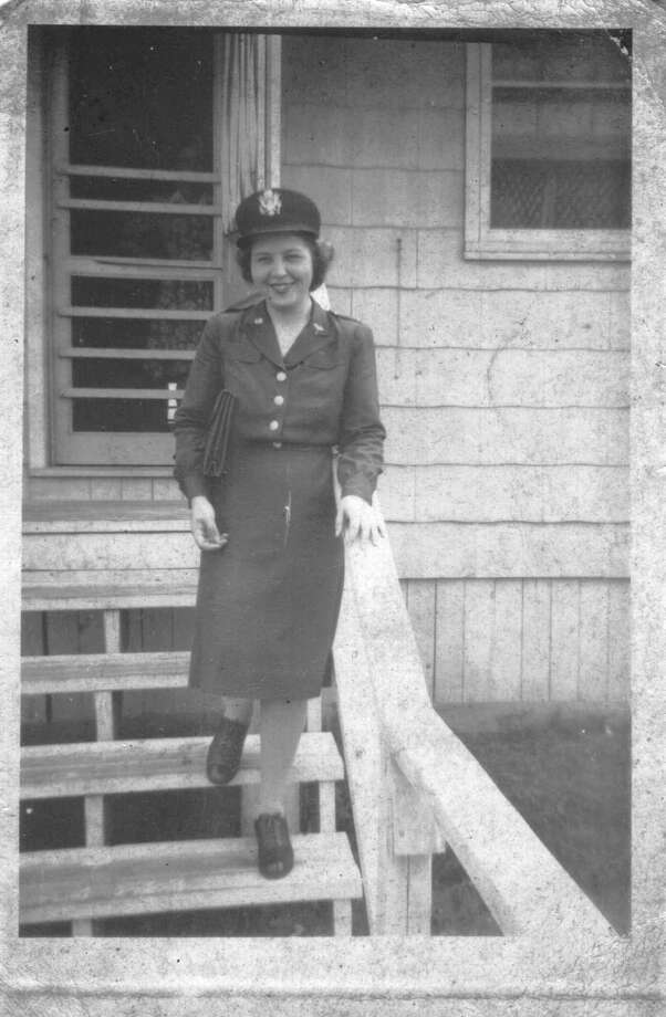 Calla Dever was with the U.S. Army Nurse Corps in 1945 when she went to Dachau. Photo: Albany Times Union Photos