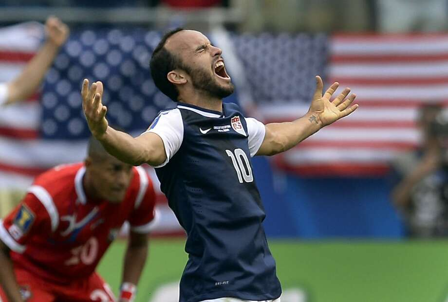 Landon DonovanThe USMNT won in World Cup qualifying without their star player, but Donovan showed his importance to the team in the Gold Cup and is a lock for the squad. Photo: Timothy Clary, AFP/Getty Images
